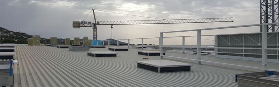 reforma de local industrial en Murcia