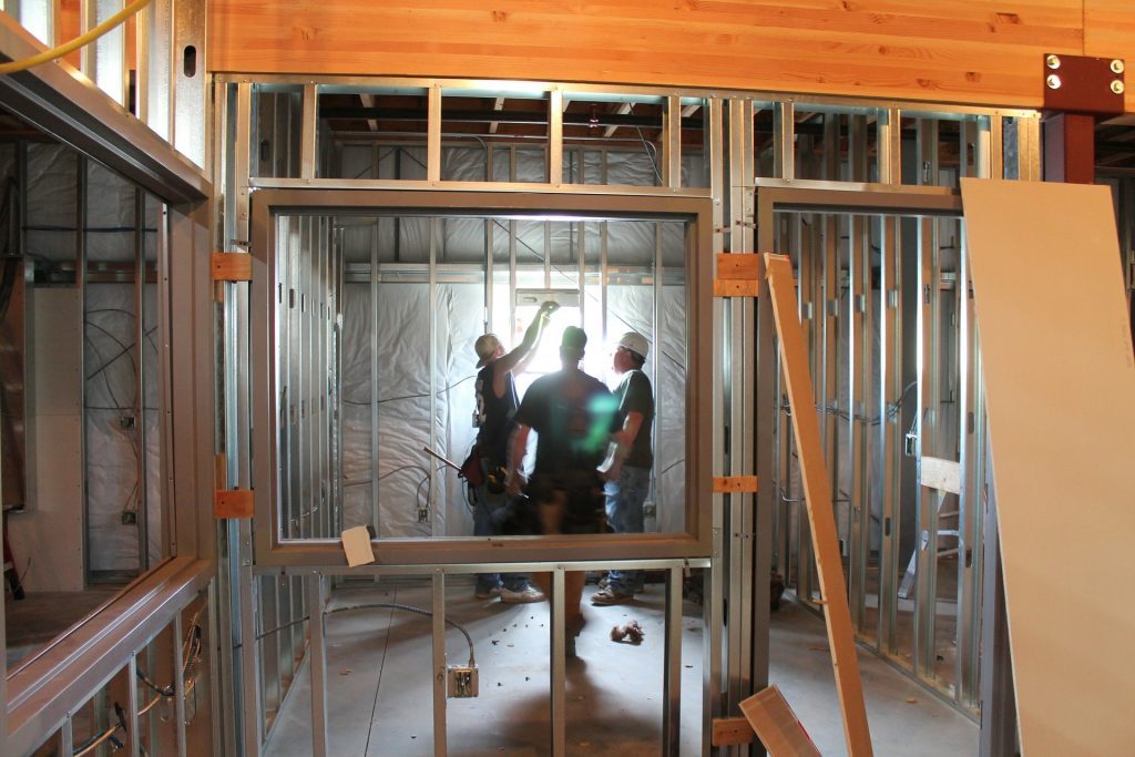 construcción de viviendas